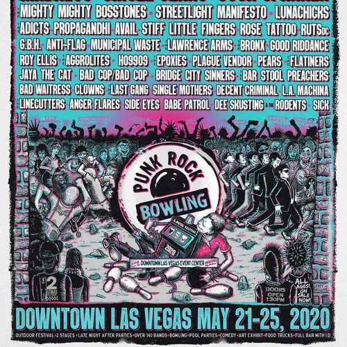 Mandess, Circle Jerks and Cock Sparrer Playing Punk Rock Bowling 2020!