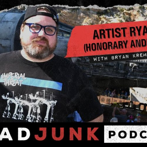 ReadJunk Podcast - Artist Ryan (Honorary Android)