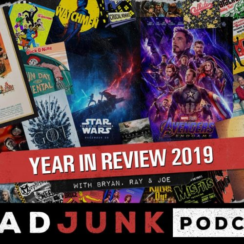ReadJunk Podcast - Year In Review 2019 with Bryan, Ray & Joe
