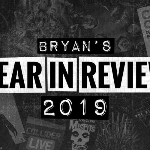 Bryan's Year in Review 2019