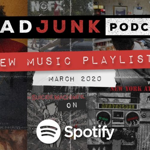 ReadJunk Playlists - New Music (March 2020)