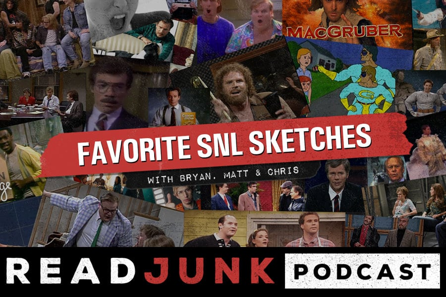 ReadJunk Podcast - Favorite SNL Sketches
