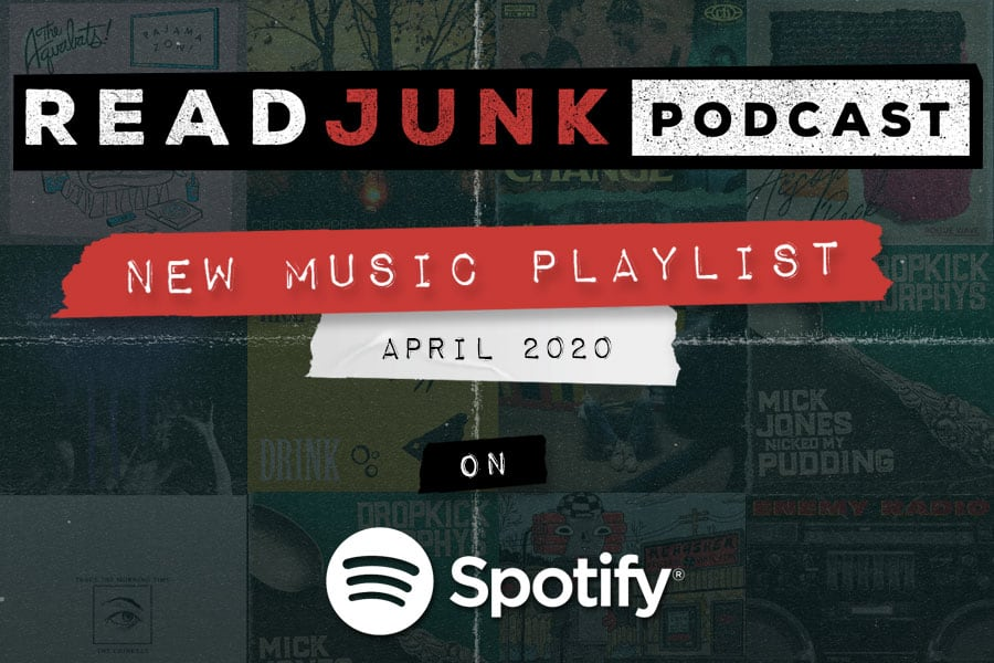 ReadJunk Playlists - New Music (April 2020)