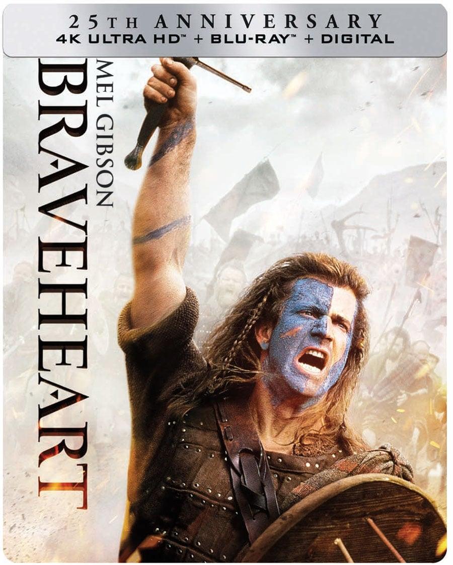 Braveheart (4k + Blu-Ray + Digital HD)