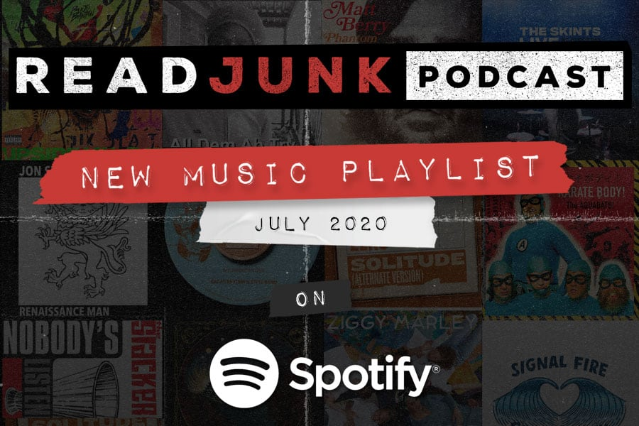 ReadJunk Playlists - New Music (July 2020)