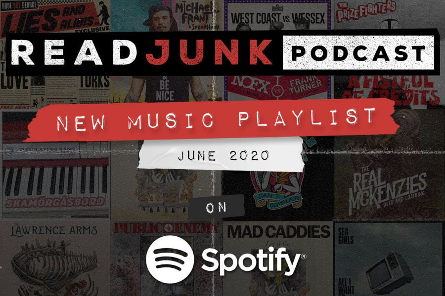ReadJunk Playlists - New Music (June 2020)