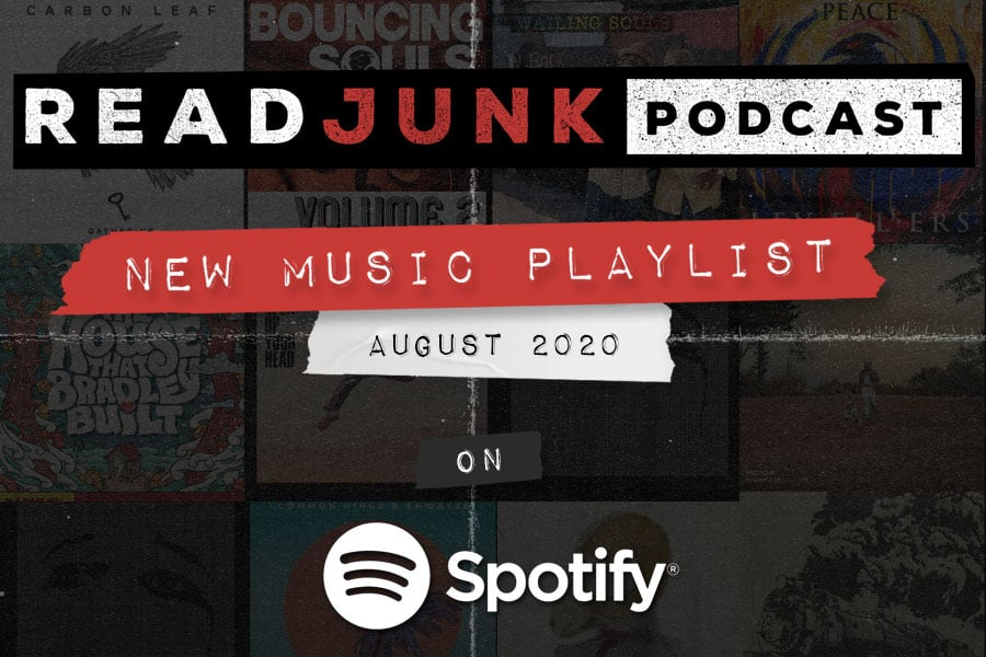 ReadJunk Playlist - New Music (August 2020)