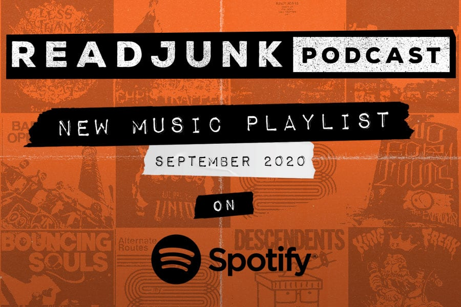 ReadJunk Playlists - New Music (October 2020)