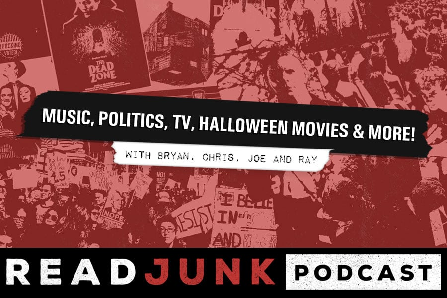 Music, Politics, TV, Halloween Movies & More with Bryan, Chris, Joe and Ray