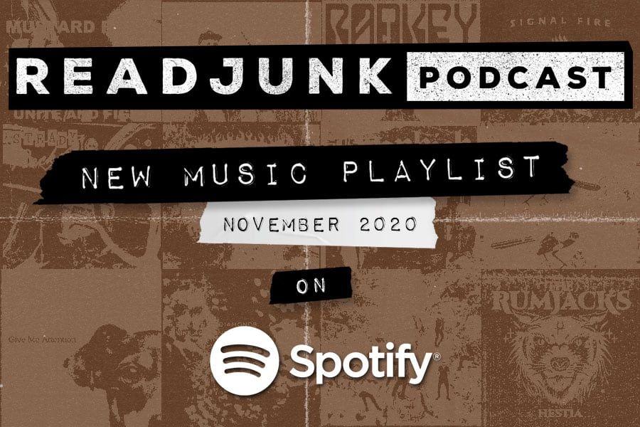 ReadJunk Playlists - New Music (November 2020)