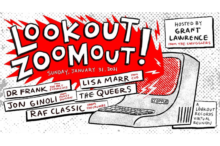 Lookout! Records Online Reunion Shows Announce