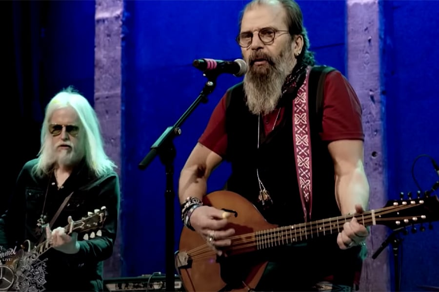 Steve Earle Pays Tribute To His Son Justin Townes Earle on Jimmy Kimmel Live