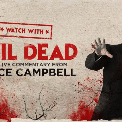 Bruce Campbell Hosting The Evil Dead Commentary Watch Party on January 23rd