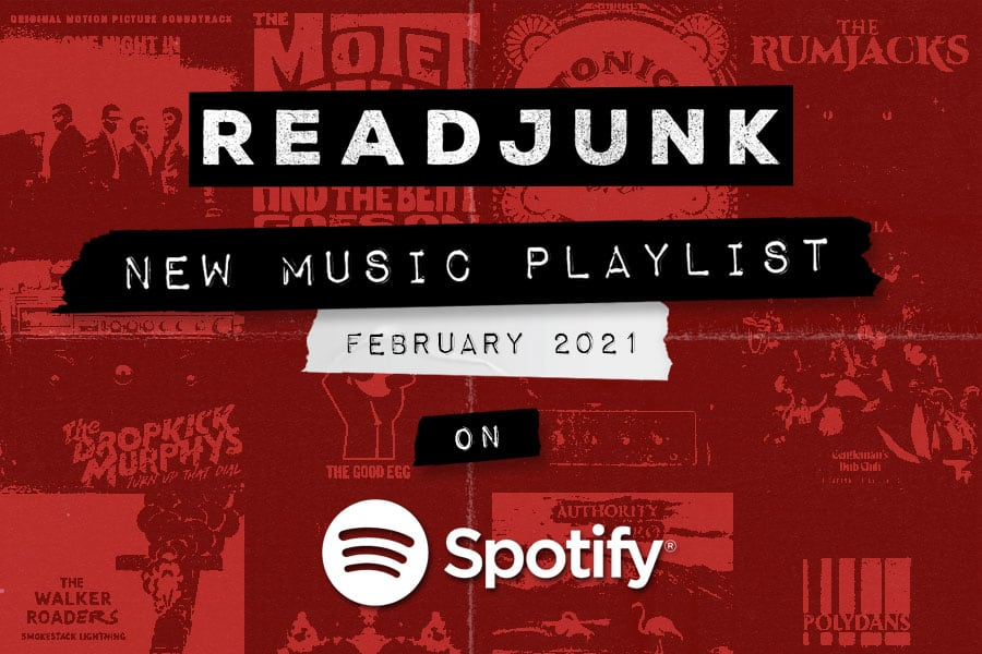 ReadJunk Playlists - New Music (February 2021)
