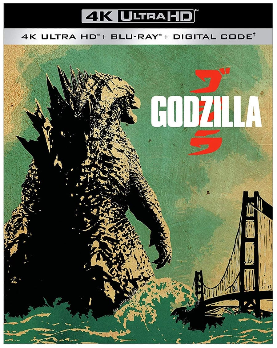 Godzilla (4k Ultra HD + Blu-Ray + Digital HD)