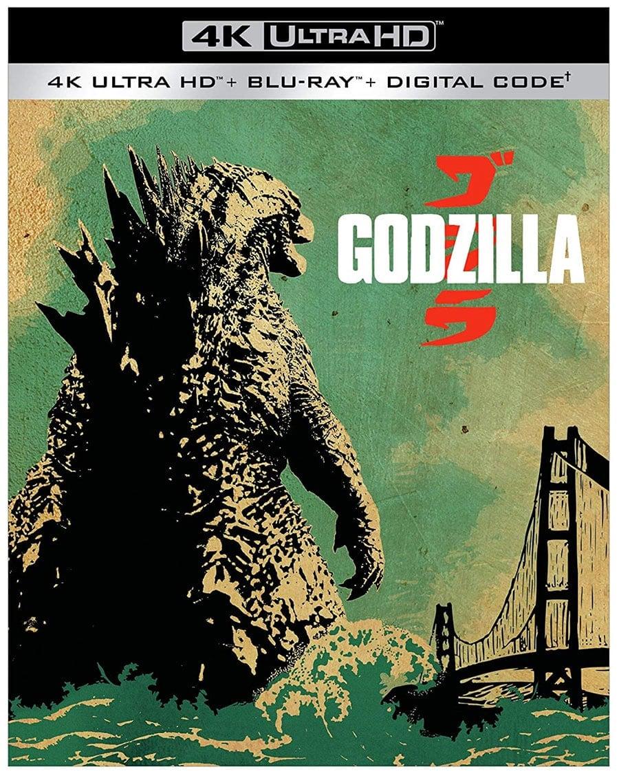 Godzilla (4k Ultra HD + Blu-Ray + Digital HD)