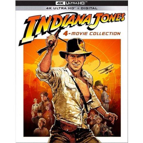 Indiana Jones 4-Movie Collection (4k Ultra Hd + Digital HD)