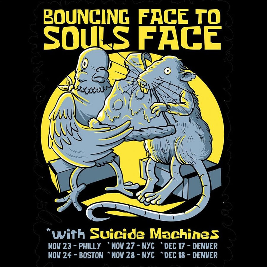Bouncing Souls and Face To Face Announce Northeast Tour Dates